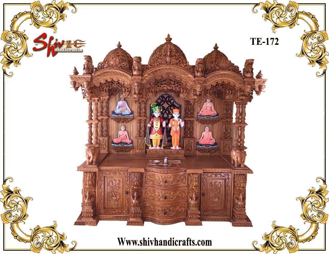 Wooden Swaminarayan Temple