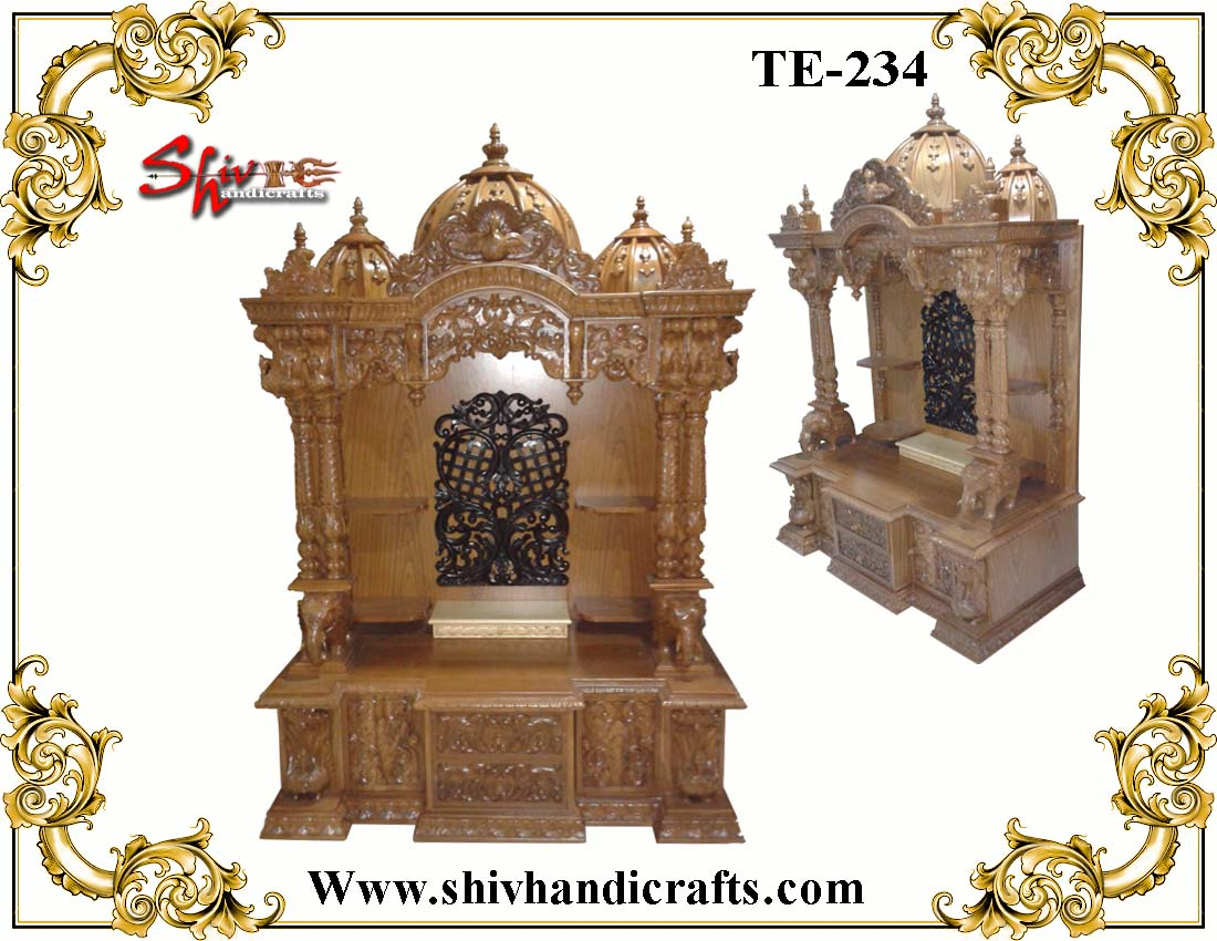 Wooden Temple For USA