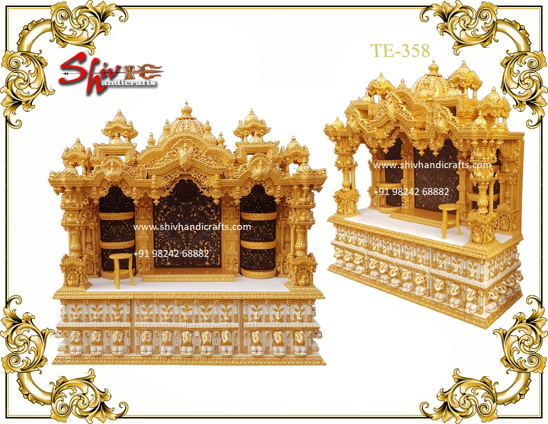 Teakwood Swaminarayan Temple