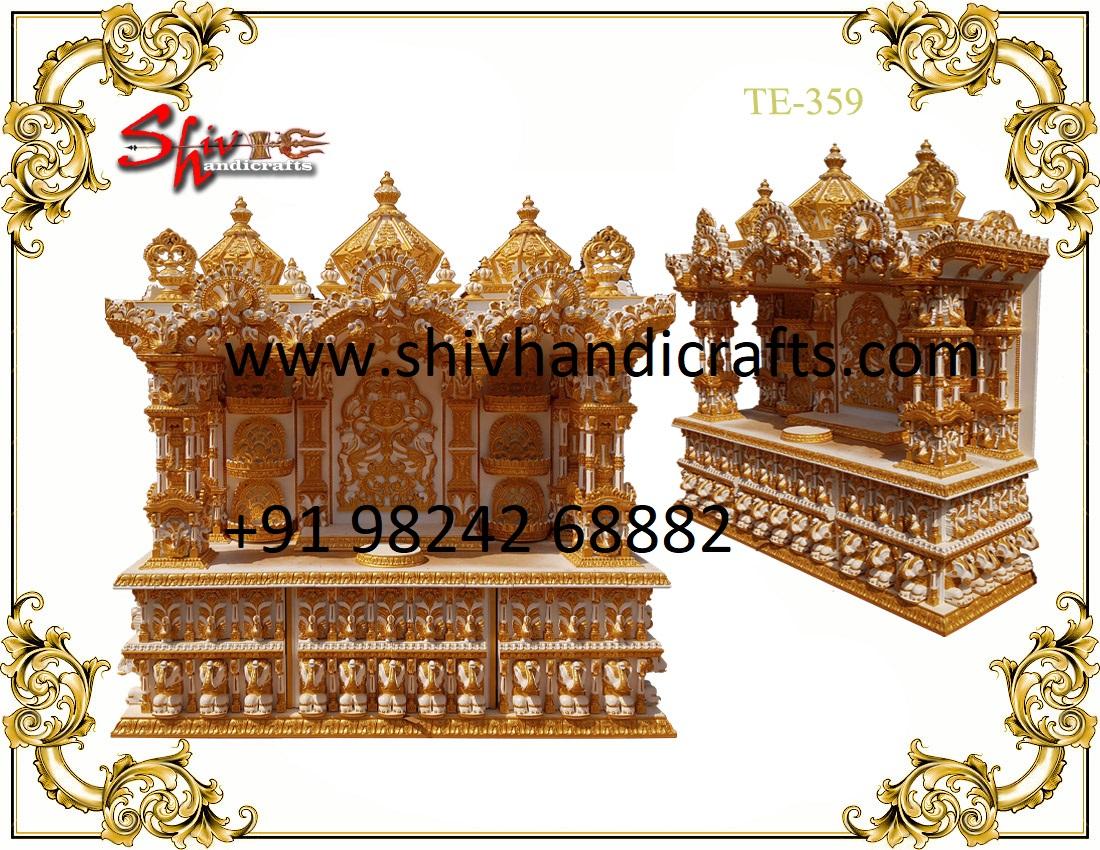 Teakwood Swaminarayan Temple Big