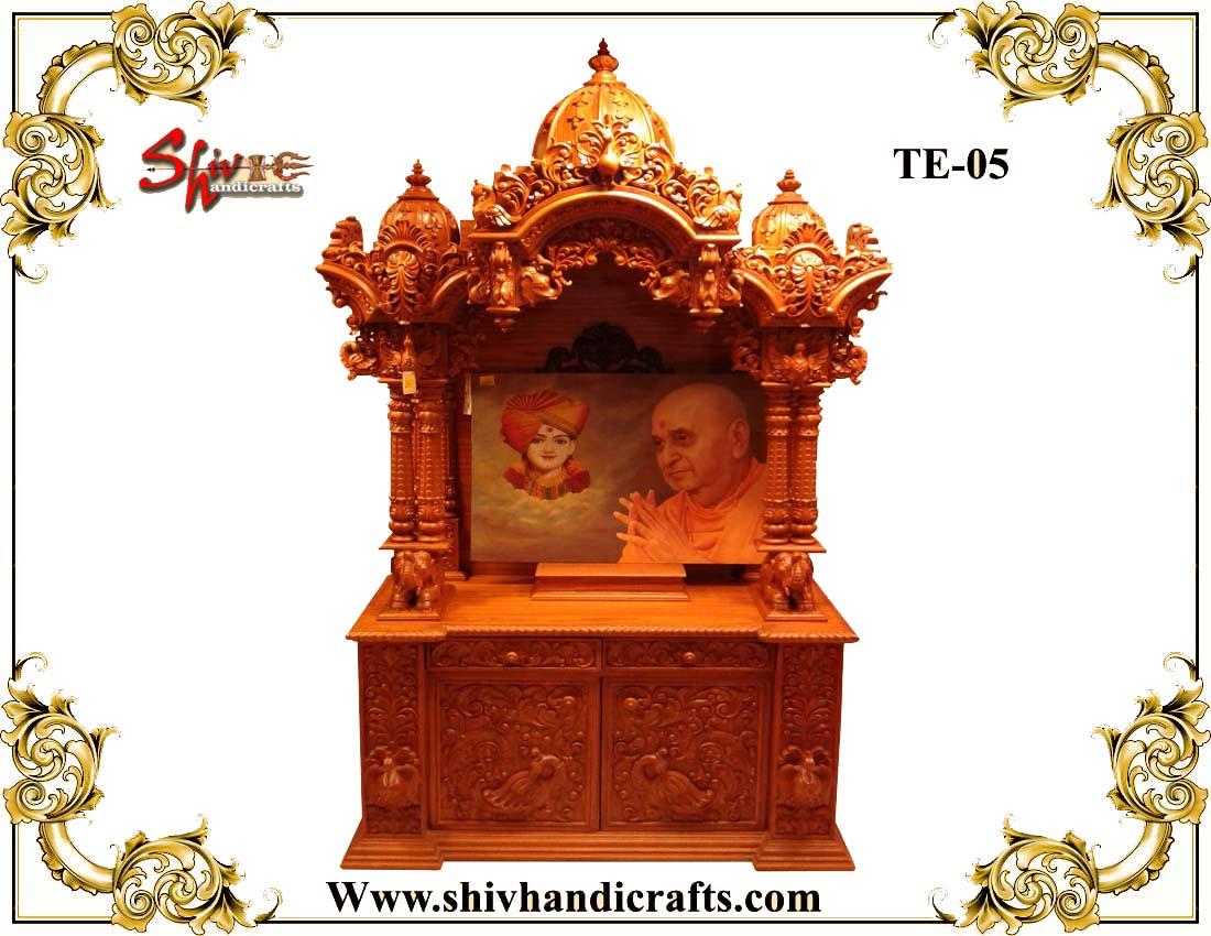Wooden Swaminarayan Mandir